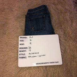 Kut size 6 denim jeans